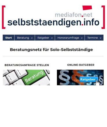 Homepage selbststaendigen.info