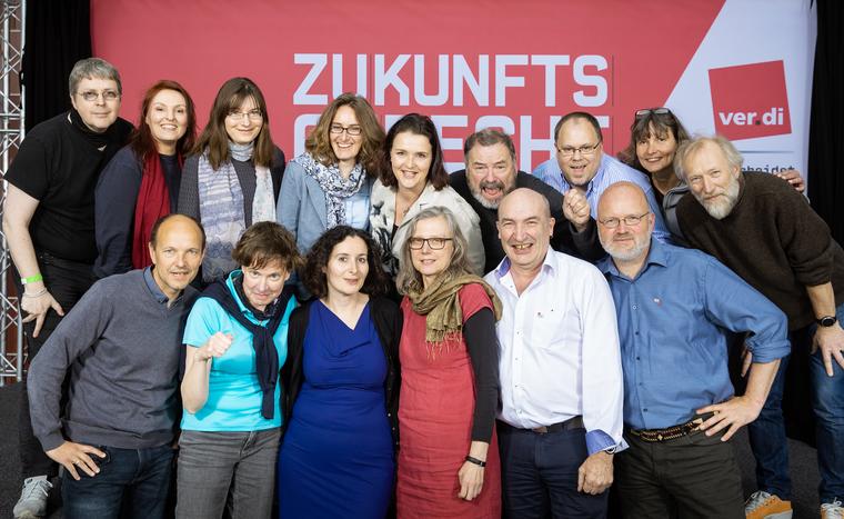 Bundeskommission der ver.di-Selbstständigen im Wahljahr 2019